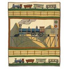 Train Crib Quilt