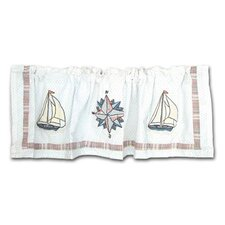 "Nautical 54"" Curtain Valance"