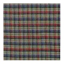 """Tan and Blue Plaid Red Pink Line 54"""" Curtain Valance"""