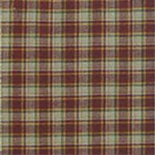 Tan and Gold Rustic Check Cotton Bed Curtain Panels (Set of 2)