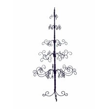 7' Black Artificial Christmas Tree