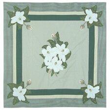 Magnolia Blossoms Cotton Shower Curtain