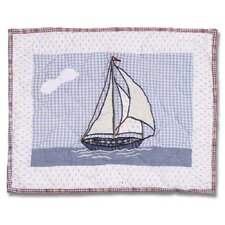 Nautical Crib Cotton Boudoir/Breakfast Pillow