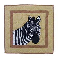 Safari Cotton Throw Pillow