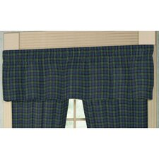 "Pioneer Diamond Plaid 54"" Curtain Valance"