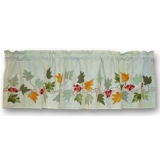 "Falling Leaves 54"" Curtain Valance"
