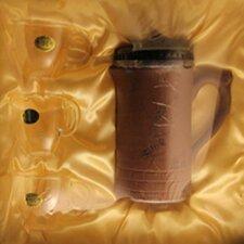 0.75-qt. Clay Teapot Set Block