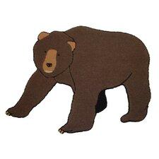 Cabin Bear Area Rug