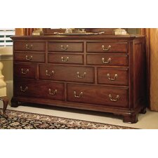Cherry Grove Triple 11 Drawer Dresser