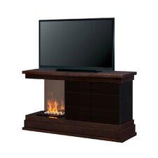 Debenham Media Console Electric Fireplace (Rocks)