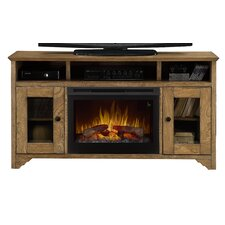 Walker Media Console Electric Fireplace