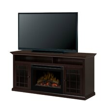 Hazelwood Media Console Electric Fireplace