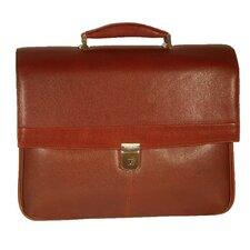 Mason Leather Laptop Briefcase