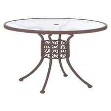 Chateau Round Glass Dining Table Top