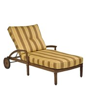 Vienna Chaise Lounge with Cushion