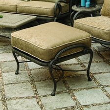 Old Gate Ottoman with Cushion