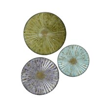 Lily Pad Discs Wall Décor