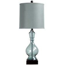 "31"" H Table Lamp with Drum Shade"
