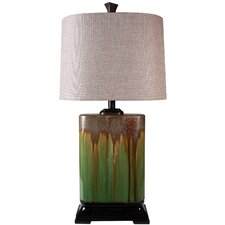 "31.5"" H Table Lamp with Drum Shade"