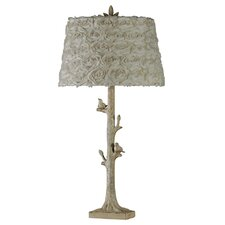 "Birds of A Feather 35"" H Table Lamp with Empire Shade"