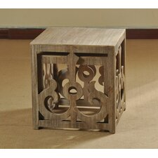 Wooden Scroll Nesting Tables