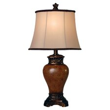 "Maximus 24"" H Table Lamp with Bell Shade"