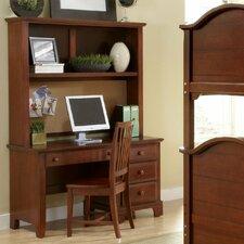 """Hamilton Franklin 52"""" Computer Desk with Hutch"""