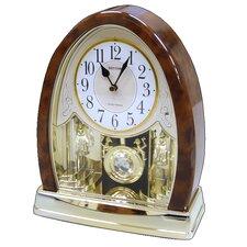 Joyful Crystal Bells Table Clock