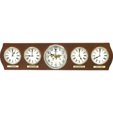 Time Zones Wall Clocks