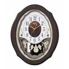 Precious Angels Melody Wall Clock