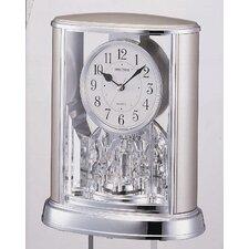Silver Teardrop Clock