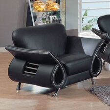 Clark Leather Armchair