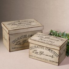 2 Piece Chocolaterie Box Set