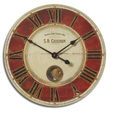 "Oversized 23"" S.B. Chieron Wall Clock"