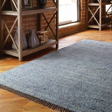 Cascadia Blue / Gray Chevron Area Rug