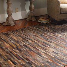 Malone Rust Brown Area Rug