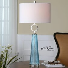 "Navier 34"" H Table Lamp with Drum Shade"