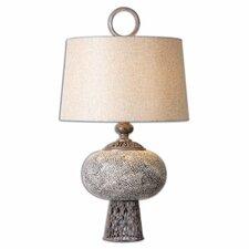 "Adolphus Ceramic 30.25"" H Table Lamp with Empire Shade"