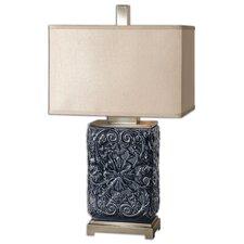 "Pratola 28"" H Table Lamp with Rectangular Shade"