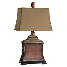 "Pavia 33"" H Table Lamp with Rectangular Shade"