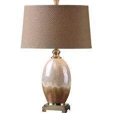 "Eadric Ceramic 29.5"" H Table Lamp with Empire Shade"