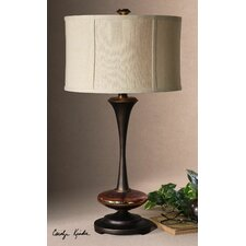 """Lahela 30"""" H Table Lamp with Drum Shade"""