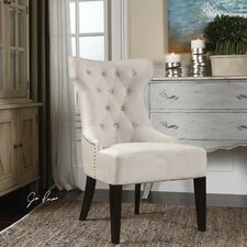 Arlette Tufted Wing Side Chair