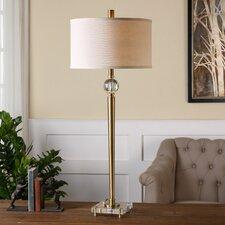 "Mesita 40"" H Buffet Table Lamp with Drum Shade"