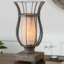 "Minozzo 18"" H Table Lamp with Drum Shade"