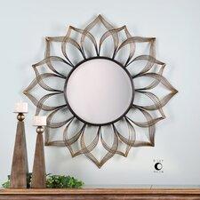 Imani Iron Sunflower Mirror