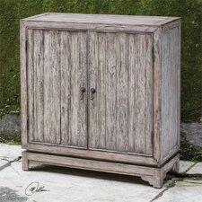 Ladann Wood Console Cabinet