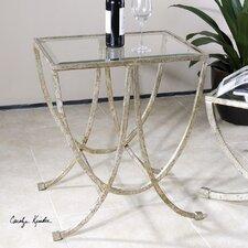 Marta Antiqued End Table