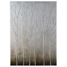 Sterling Trees Original Painting on Canvas