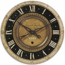 "Oversized 27"" Auguste Verdier Wall Clock"